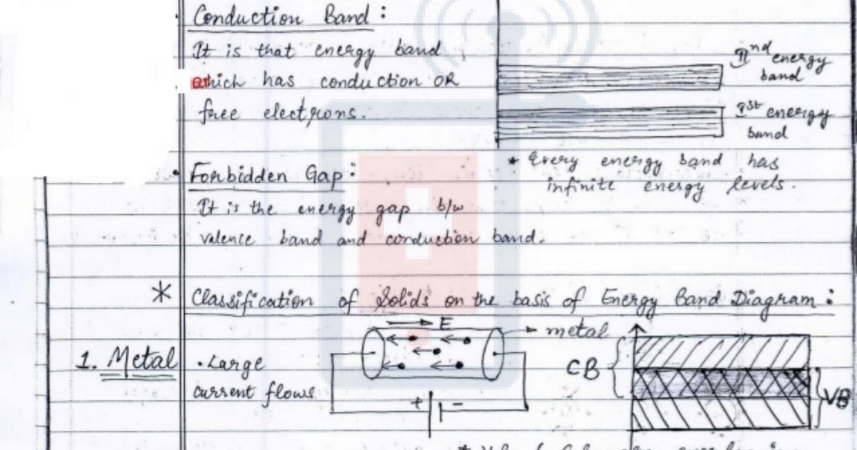 Thread to share class notes - Study Materials - goIIT com
